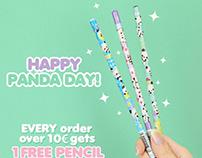 Kawaii Designs for Kawaii Panda Shop ❤️