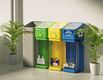 Recycle Right Bins