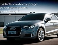Outdoors dos modelos A3 e Q3 da Audi Center Sorocaba
