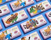 AGUILA Ritmos Nuestros — packaging design