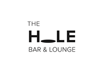 The HOLE Bar & Lounge // Typography logo