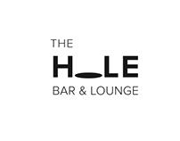 The HOLE Bar & Lounge // Typography logo