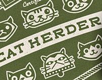 Cat Herder Mousepad