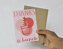 The Botanicals Greeting Card Range