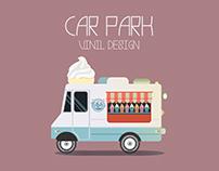 Автопарк Винил дизайн - автомобили из видеороликов