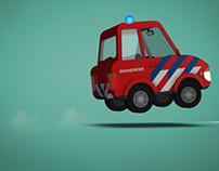 Cartoon Cars Animation