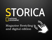 Magazine restyling               and digital publishing