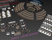 MODEL FREE 4 - OFFICE 1