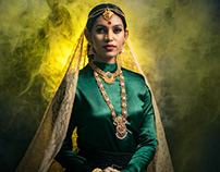 Model Photoshoot + Digital Imaging for Bhima&Brothers