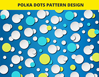 Amazing Polka Dots Vector Pattern Design