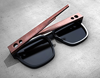 Corten sunglasses l Conceptual project