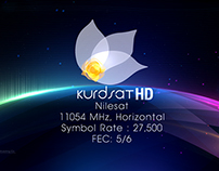 Vizrt Kurdsat 1 HD Frequency Bumper.