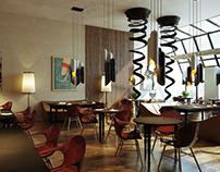 Design of café