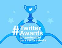 Infografía para Twitter Awards