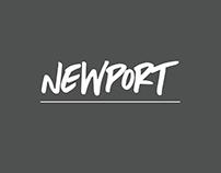 Newport | A Beachy Hand Written Font