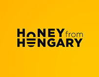 Honey from Hungary packaging