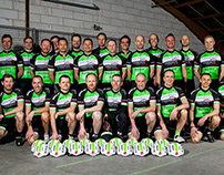 Cycling Team photoshoot