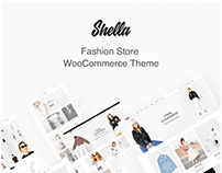 Shella - Fashion Store WooCommerce Theme