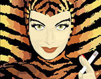 Tigra poster design (For fiverr client)