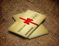 Gift Voucher Card Template Vol 17