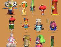 Characters Modeling