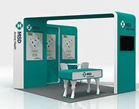 MSD Animal Health Vacination Stand
