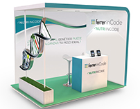 Ferrer Corporate Stand Design