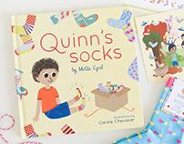 Quinn's Socks - Children's Book