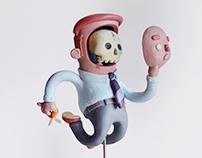 Facelift-Art toy