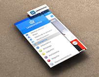 Diseño interface & branding App León Ofertas