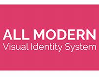AllModern Rebranding