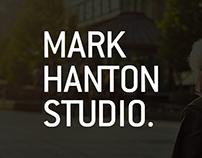 Mark Hanton Studio landscape architect brand identity