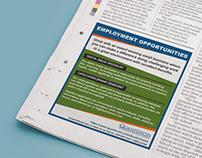 Newspaper Employment Ad
