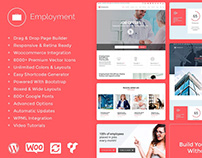 Employment WordPress Theme - Job Portals Websites Build