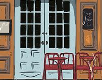 Sacivert Cafe