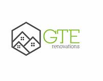 Propuesta Logo GTE Renovations Remodelación de Casas