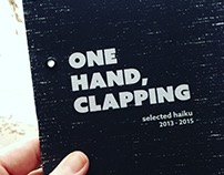 One Hand, Clapping (chapbook), 2015