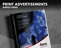 Airius Fans | Print Advertisements