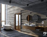 3d visualizations / interior design - bathrooms 2019
