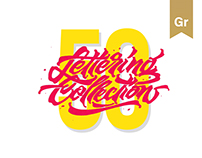 50 / Lettering Collection
