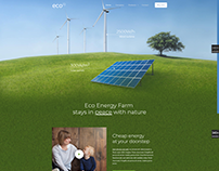 ECO - WordPress Website Template Design