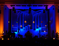 """Stage design """"Tribute To Amy"""" The Krakow Philharmonic"""