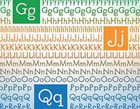 Querk: A hybrid font