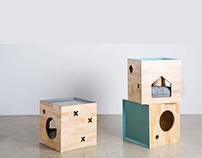 Kin Box—A Modern Cat's Home