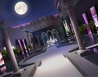 M2 gardens trio villa event @ Saladin citadel Cairo