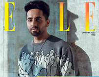 AYUSHMANN KHURRANA for ELLE INDIA JANUARY 2020