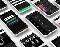 Quiktix Ui Design