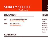 2015 Illustrated Resume