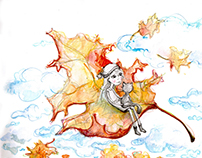 Autumn feeling, illustration