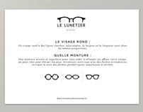 Le Lunetier - Graphisme